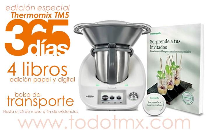 365 Días 365 Recetas Edición Especial Thermomix Tm5