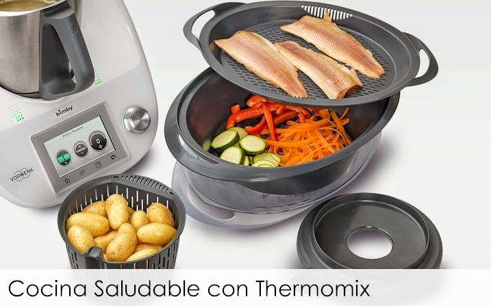 Cocina saludable con thermomix for Cocina saludable