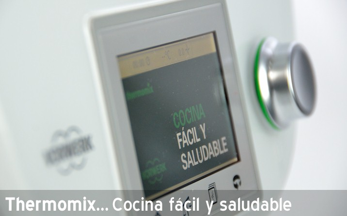 Thermomix cocina f cil y saludable for Cocina thermomix facil