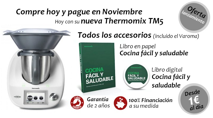 Thermomix tm5 al detalle - Cocina facil y saludable thermomix ...