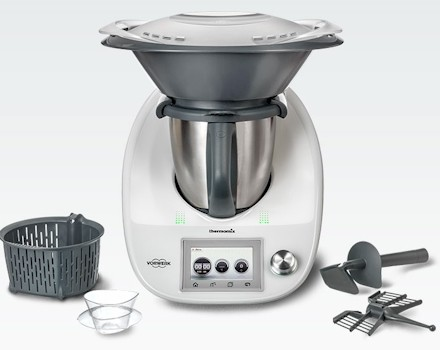 Thermomix® TM 5, simplemente cocina